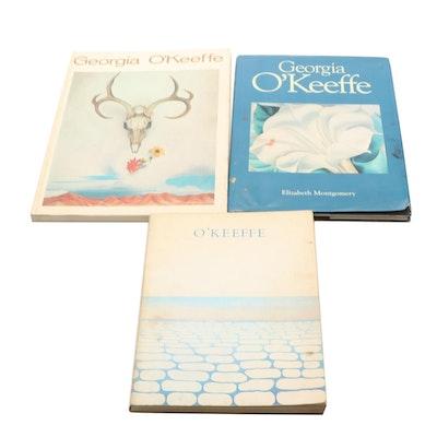 Georgia O'Keeffe Illustrated Art Books