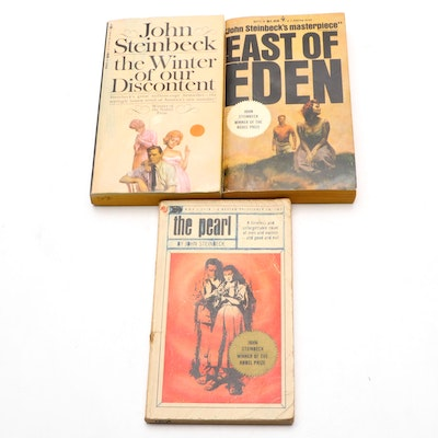 """""""East of Eden,"""" """"The Pearl,"""" and More by John Steinbeck, Mid-20th Century"""