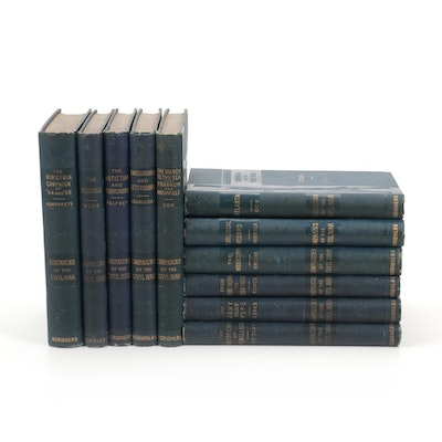 """""""Campaigns of the Civil War"""" Eleven-Volume Set by John G. Nicolay et al., 1881"""