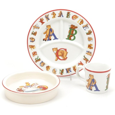 Tiffany & Co. for Mason's Children's Porcelain and Ironstone Dinnerware