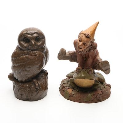 Plaster Garden Decor Figurines