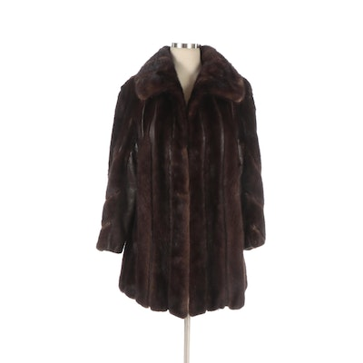 Mink Fur and Leather Coat from Colbert's of Amarillo
