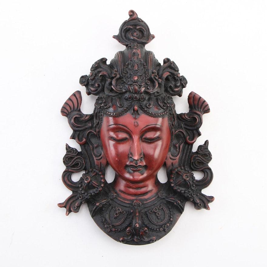 Tibetan Style Resin Wall Hanging of Tara