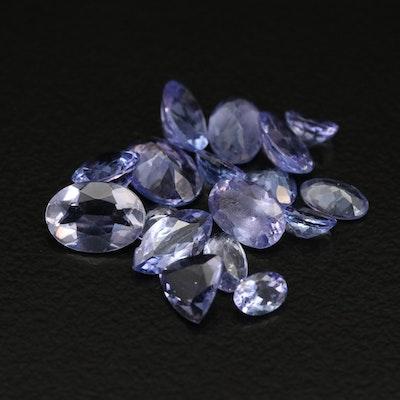 Loose 5.77 CTW Tanzanite and Iolite