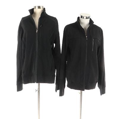 Men's Lululemon Black Zip-Front Jackets