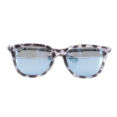 Smith Roam ChromaPop Horn-Rimmed Sunglasses in Choco Tortoise with Case