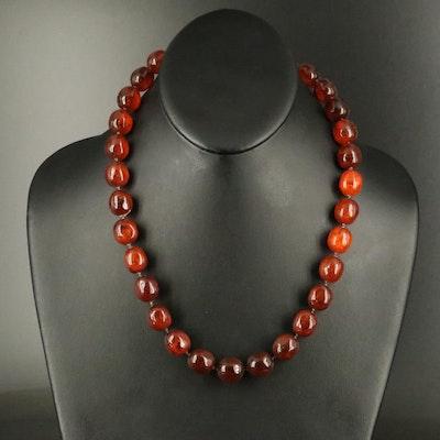 Copal Bead Necklace
