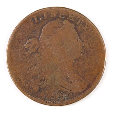 Key Date 1799 Draped Bust Large Cent
