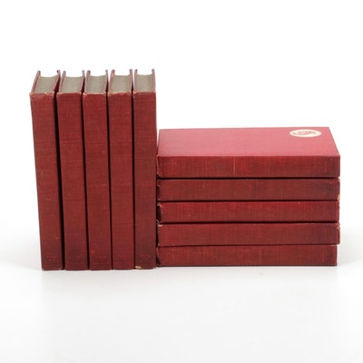 """The Works of Edgar Allen Poe"" Cameo Edition Complete Ten-Volume Set"