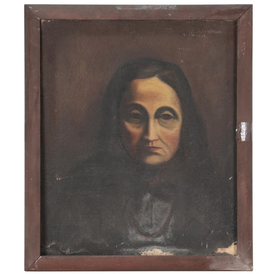 Portrait Oil Painting of a Woman
