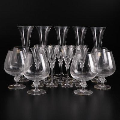 "Spiegelau ""Pretiosa"" German Crystal Stemware"