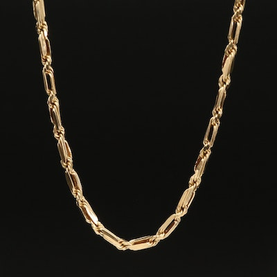 14K Figarope Chain Necklace