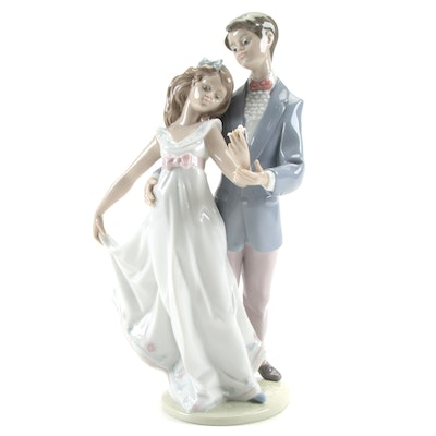 """Lladró """"Now and Forever"""" Porcelain Figurine Designed by Francisco Polope"""