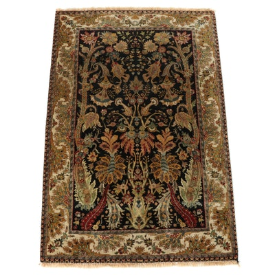 """4'1 x 5'3 Hand-Knotted Golden Age """"Excelsior"""" Area Rug"""