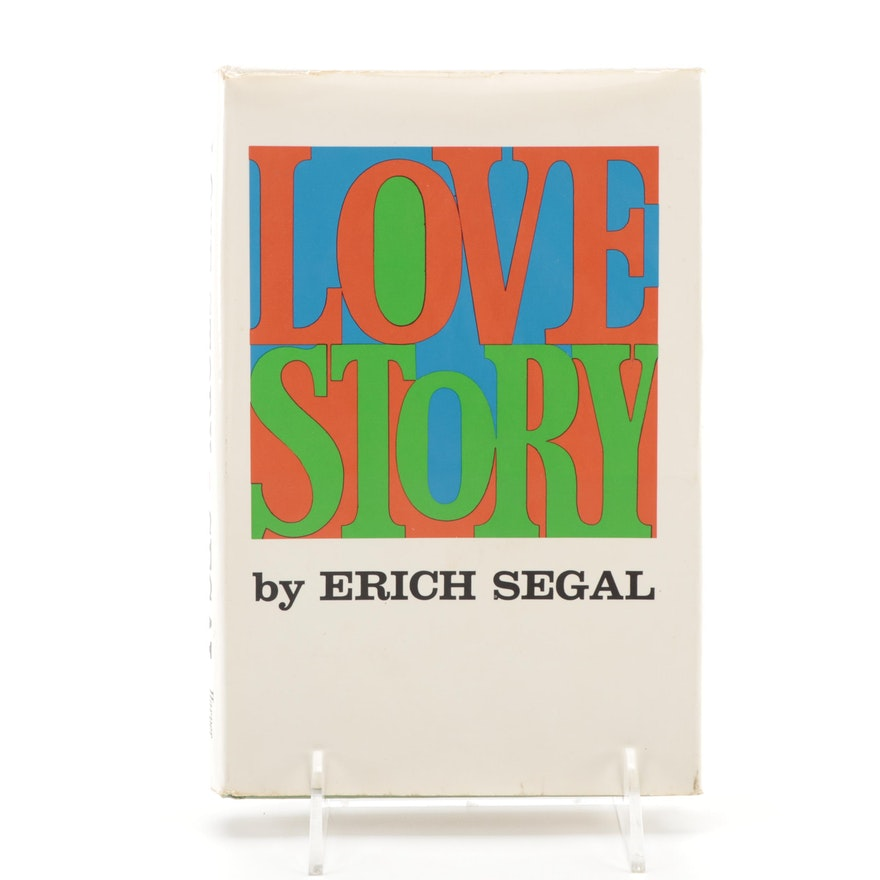 """First Edition """"Love Story"""" by Erich Segal, 1970"""
