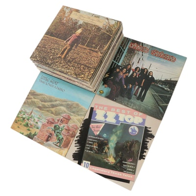 Allman Brothers Band, Lynyrd Skynyrd, Little Feat, ZZ Top, and Other Vinyl