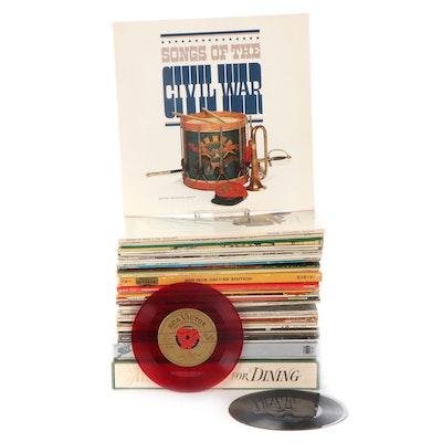 Stravinsky, Homer & Jethro, Japanese Koto Music, Other Vinyl LP Records