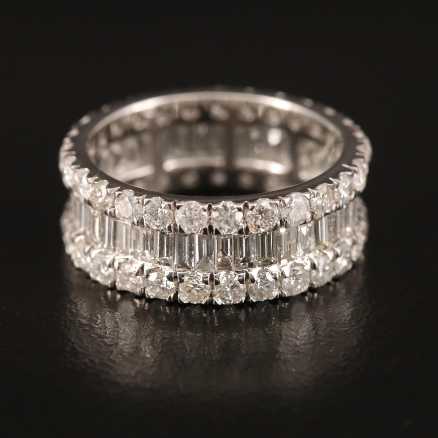 14K 4.03 CTW Diamond Band