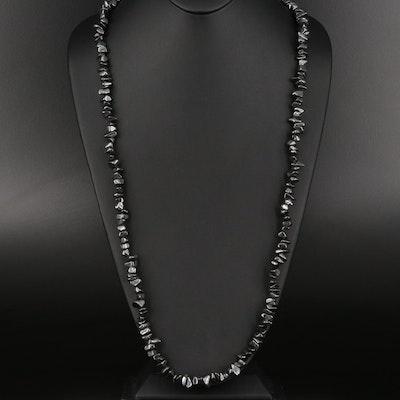Tumbled Hematite Necklace