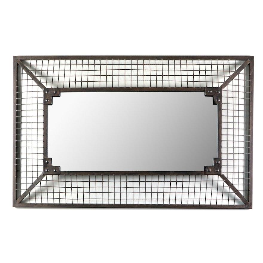 Jaxson Rectangular Wire Wall Mirror