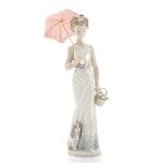 "Lladró ""Garden Classic"" Porcelain Collector's Figurine Designed by Juan Huerta"
