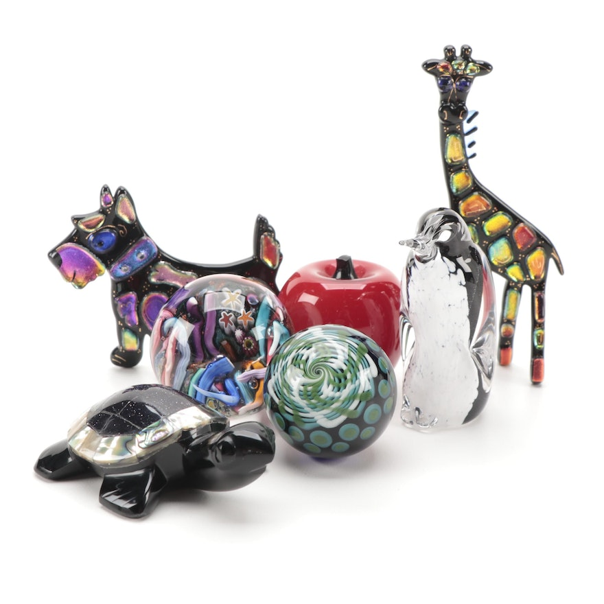 Art Glass Figurines and Paperweights