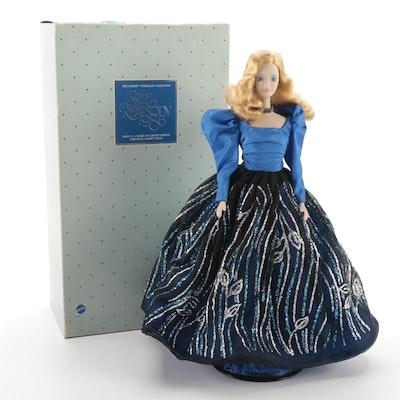 """Mattel """"Blue Rhapsody"""" Porcelain Barbie Doll"""