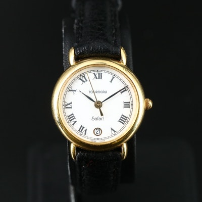Tourneau Safari 18K Quartz Wristwatch