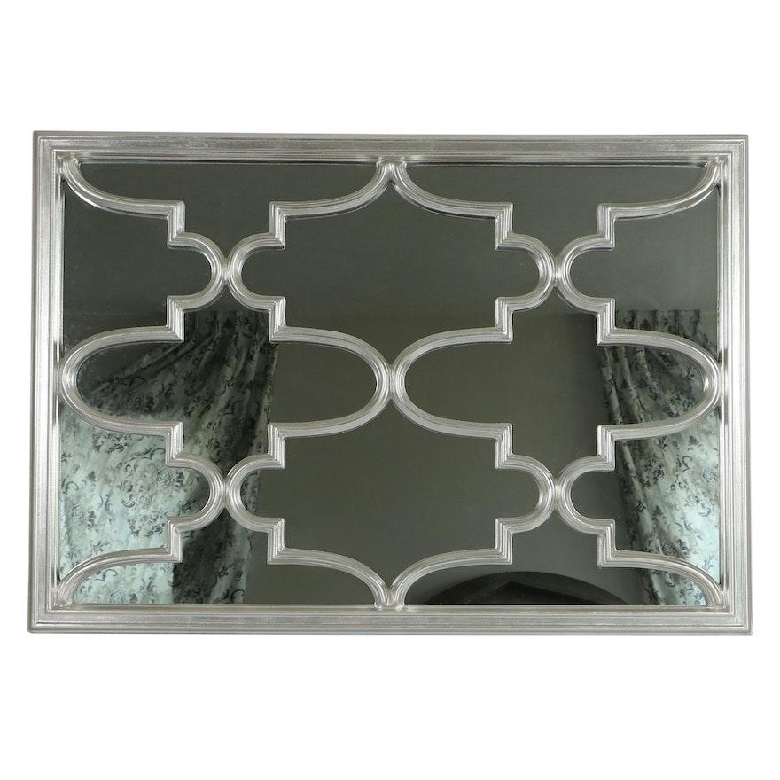Zhong Shun Wood Art Co. Silver-Gilt Wall Mirror