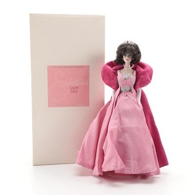 """Mattel """"Sophisticated Lady"""" Porcelain Barbie Doll"""