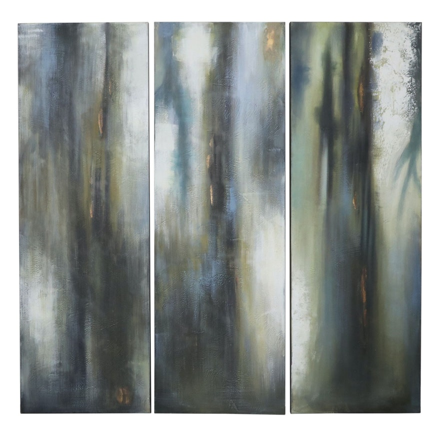 Abstract Giclée Triptych, 21st Century