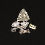 Loose 0.42 CTW Mixed Cut Diamonds