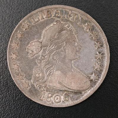 1806 Draped Bust Silver Half Dollar