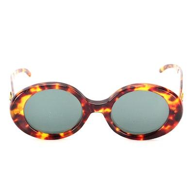 Gucci GG 2410/S Round Prescription Sunglasses in Tortoise