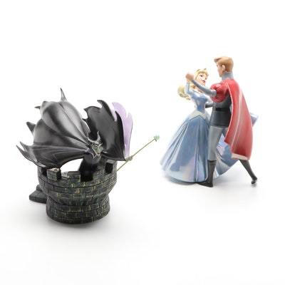"""Disney Classics Collection """"Cinderella and Prince Charming"""" and """"Maleficent"""""""