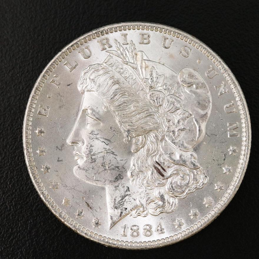 1884-O Uncirculated Morgan Silver Dollar