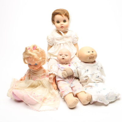 Four Baby Dolls Including Cabbage Patch Kid