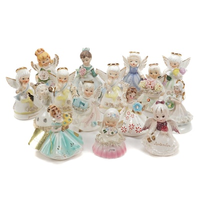 Lefton, Napco,  and Other Figurines, Mid-20th Century