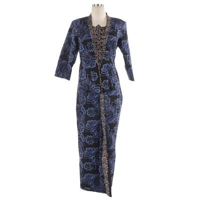 Bunga Raya Hand-Printed Batik Two-Piece Dress