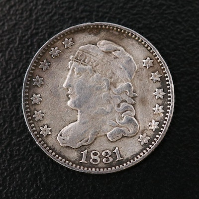 1831 Capped Bust Silver Half Dime