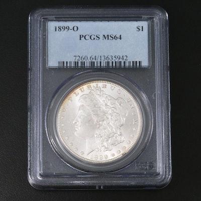 PCGS Graded MS64 1899-O Morgan Silver Dollar