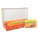Hot Wheels Action Set Gear Box and Collector's Case, 1960s