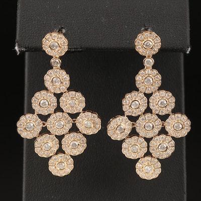 14K 2.71 CTW Diamond Earrings