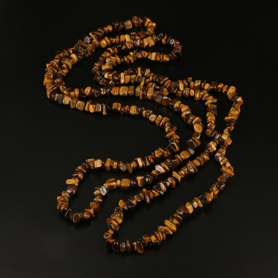 Endless Tiger's Eye Necklaces