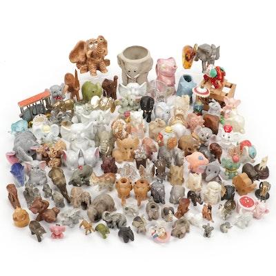 Lenox, Avon, Russ, and More Elephant Figurines