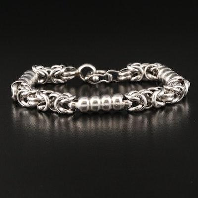 950 Byzantine Chain Station Bracelet
