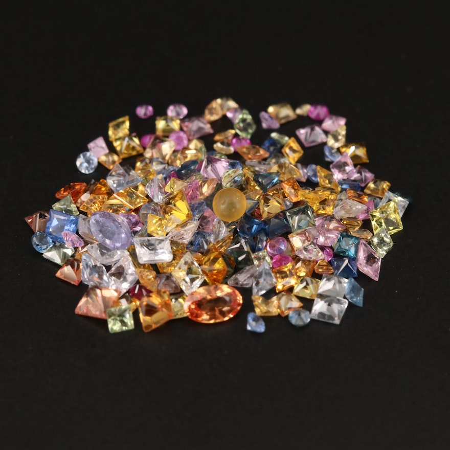 Loose Mixed Faceted Sapphire