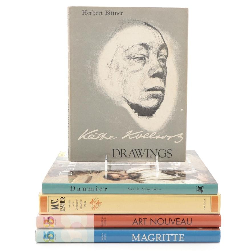 """""""Käthe Kollwitz: Drawings"""" by Herbert Bittner and More Art Books"""