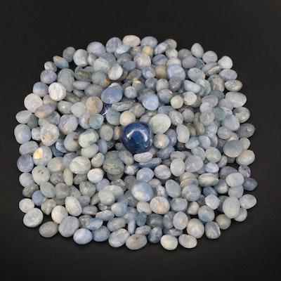 Loose Tumbled Rough Sapphires