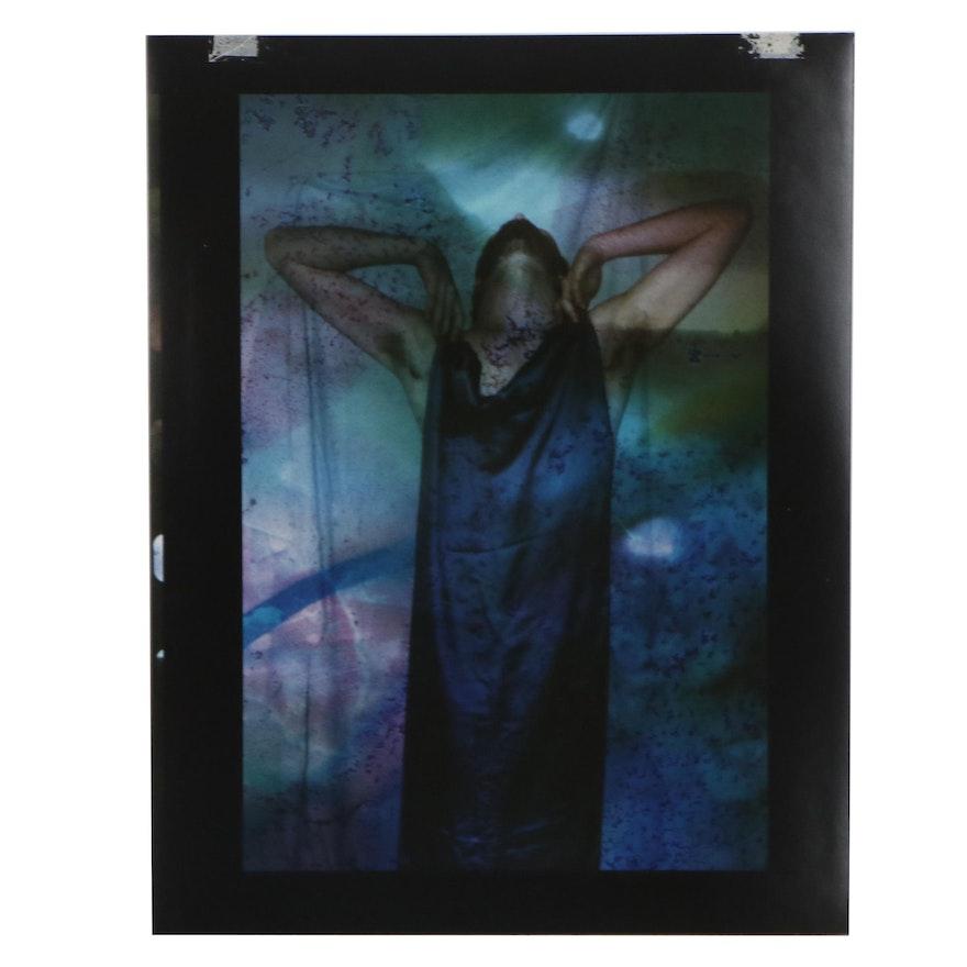 Barbara Hershey Figural Cibachrome Photograph, 1983
